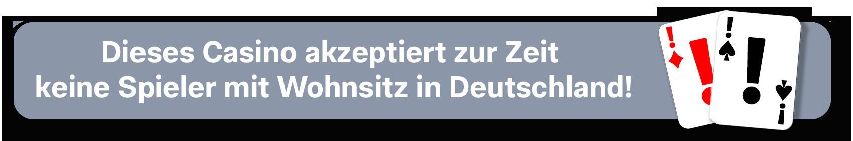 Keine Spieler aus Deutschland