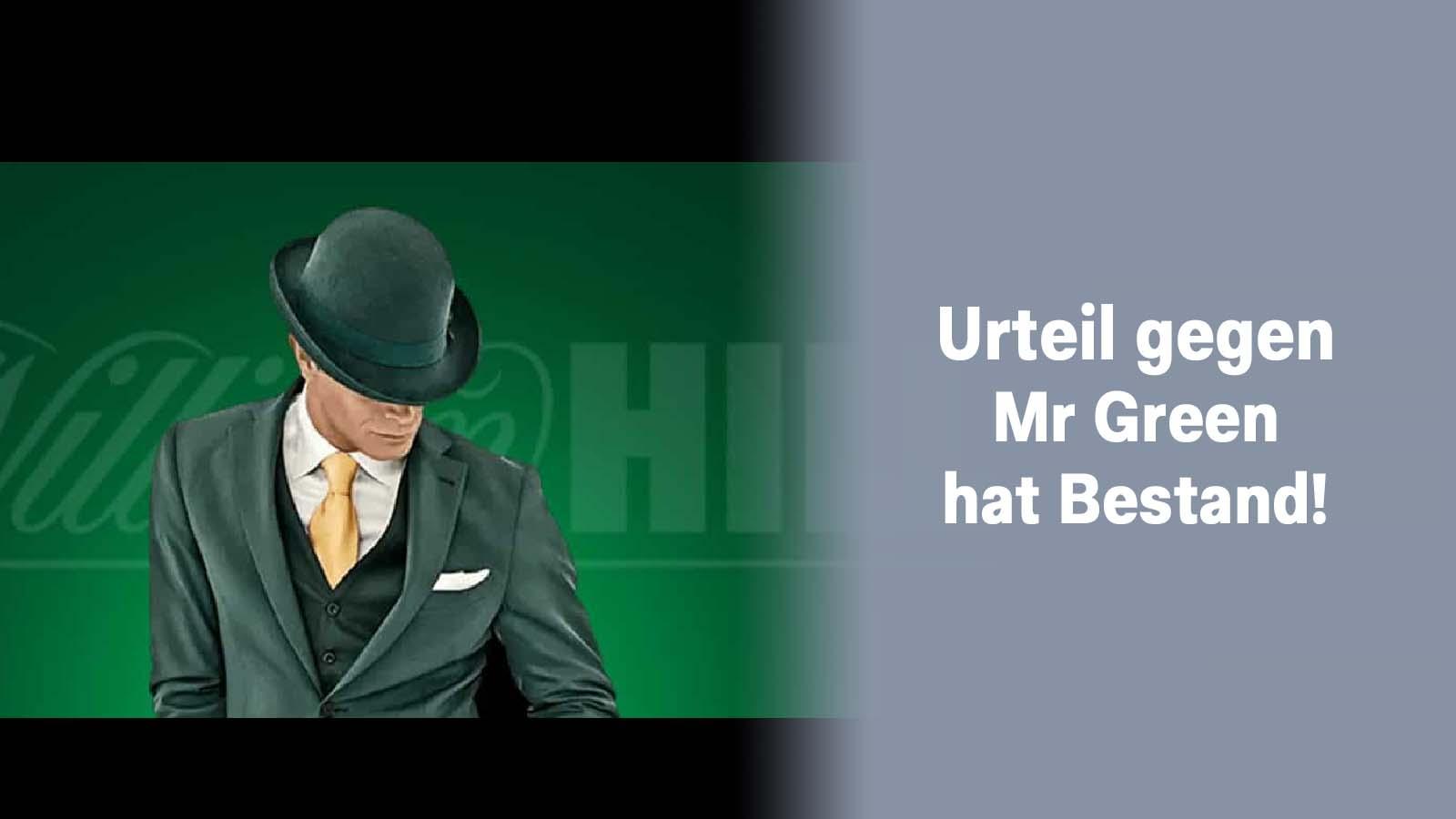 Urteil gegen Mr Green